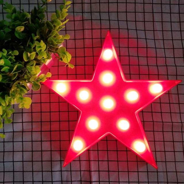 Star Shaped Night Light