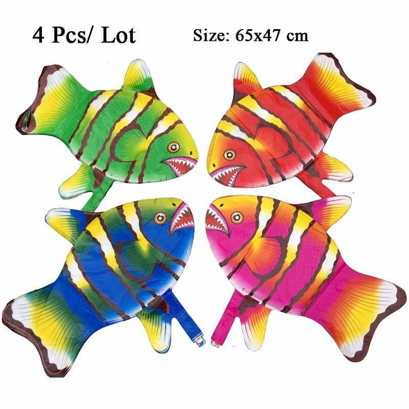 Nhiệt đới mylar phi cá bóng bay khí cầu helium foil đảng trang trí nguồn cung cấp đồ chơi bơm hơi bé tắm đầu tiên bong bóng sinh nhật