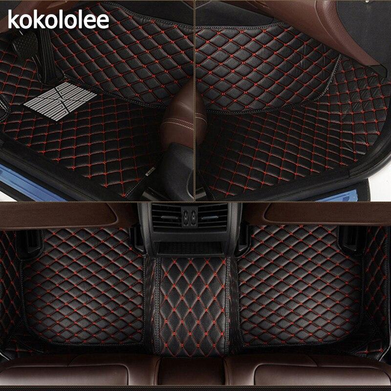 Kokololee пользовательские автомобильные коврики для Suzuki все модели grand vitara jimny swift SX4 Kizashi Тюнинг автомобилей Автомобильные аксессуары