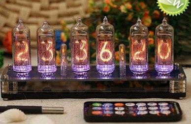 Бесплатная доставка в-14 Glow трубки электронные часы трубки