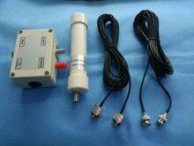 جهاز استقبال محمول من DYKB بهوائي نشط 10 كيلو هرتز 30 ميجا هرتز مجمعة في صندوق HF LF VLF جهاز استقبال محمول صغير SDR RX جهاز استقبال BNC
