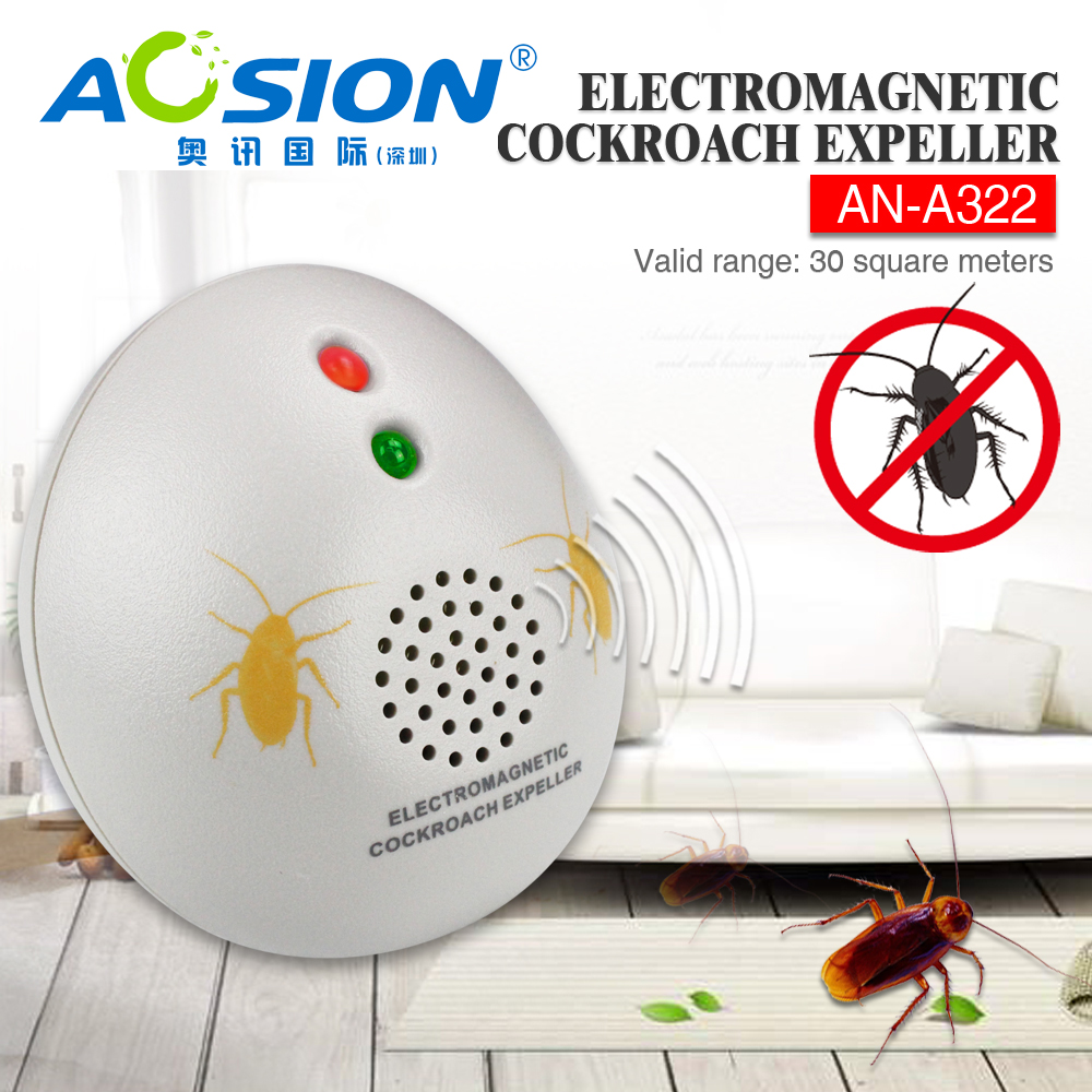 Buy Aosion Garden Solar Ultrasonic Animal Dog Cat Bird Fox Is The Circuit Diagram Of An Mosquito Repellerthe Repeller Repellent Chaser Got Cockroach Eu Plug Free In Repellents From Home