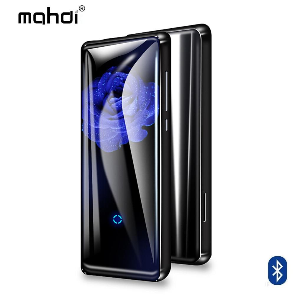 Unterhaltungselektronik Mp4 Player 16 Gb Mp4 Player Mahdi M320 Bluetooth Mp4 Touch Tasten Bluetooth Musik-player Fm Tf Ebook Armabnd Kopfhörer Beutel