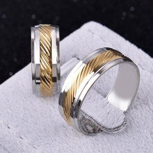 Fashion Chain Rotation Men Ring Stainless Steel Male Finger Ring Fashion Jewelry Gold Silver finger rings for Men(KA0099)