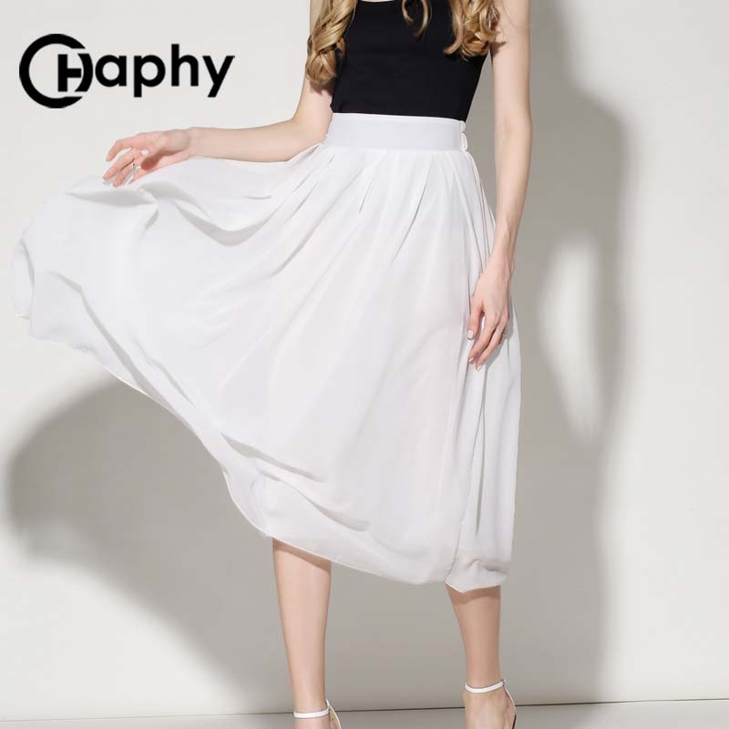 Online Get Cheap White Pleated Maxi Skirt -Aliexpress.com ...