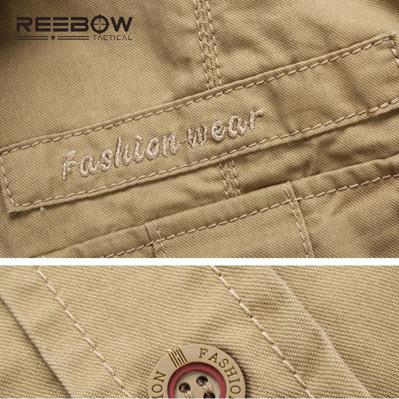 REEBOW TACTICAL Men Autumn Military Outdoor Hiking Shirts Long Sleeve - Sportswear and Accessories - Photo 4