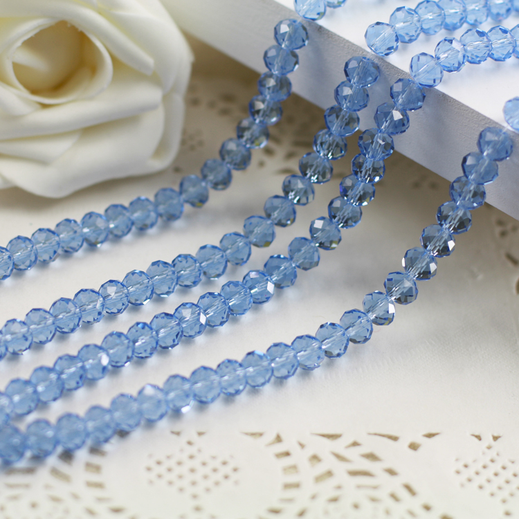 Light Blue Color 2mm,3mm,4mm,6mm,8mm 10mm,12mm 5040# AAA Top Quality loose Crystal Rondelle Glass beads emerald color 2mm 3mm 4mm 6mm 8mm 10mm 12mm 5040 aaa top quality loose crystal rondelle glass beads