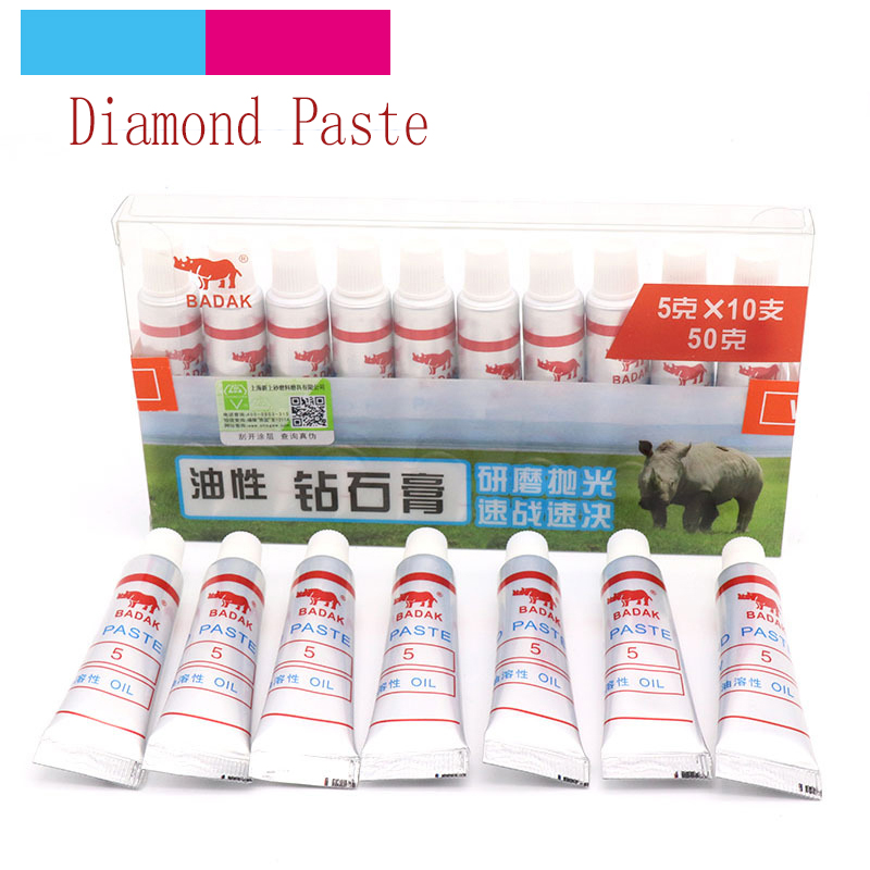 1pcs W0.5 ~40 Diamond Polishing Lapping Paste Compound Syringes Micron Glass Metal Grinding Polishing Abrasive Tools