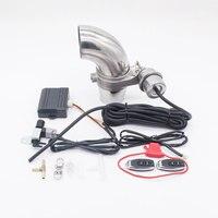 Vacuum Exhaust Valve Kit Muffler Cutout Valve Set Automobile Remote Controller SIN Variable Close Open Style