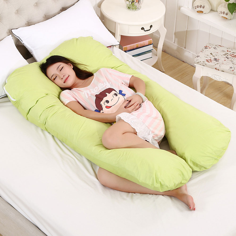 Maternity Pillow Safe Multifunctional Detachable Four Colors 80x140cm with Pillowcase Household Accessory цена