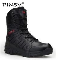 Tamanho grande 41 46 botas militares dos homens sapatos preto deserto tático botas de combate ao ar livre botas do exército para homens bota masculina pinsv| |   -