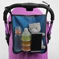 Novo 2016 Sacos De Carrinho De Bebê Carrinho de Bebê Accessoire Saco Multifuncional Carrinho de Bebê Malha Saco Organizador No Carro 70Z2438