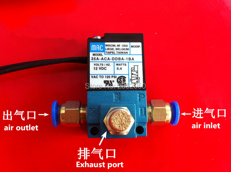все цены на MAC 3 Port Electronic Boost Control Solenoid Valve 35A-ACA-DDBA-1BA With Brass Silencer,fittings онлайн