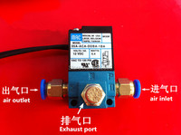 MAC 3 Port Electronic Boost Control Solenoid Valve 35A-ACA-DDBA-1BA With Brass Silencer,fittings
