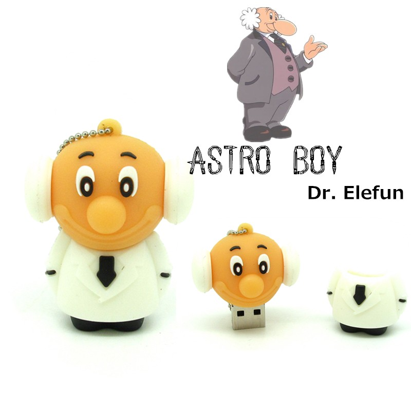 cartoon Astro boy usb flash drive disk Dr Tenma usb stick 4gb 8gb 16gb 32gb pendrive hig ...
