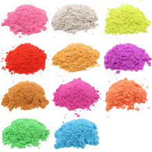 Dropshipping 100g Play Sand Magic Dynamic Indoor Slime Toys For Children Educational Space Polymer Soft  Clay