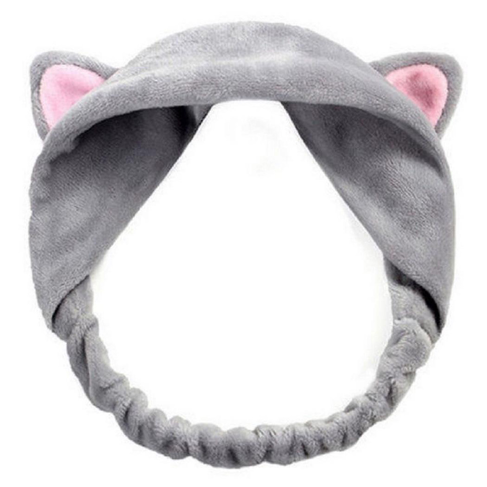 Women Ears Tools Elastic Hair Headbands Party Makeup Party Hairband Accessories Face Wash Headdress Cute Cat Life Women(China)