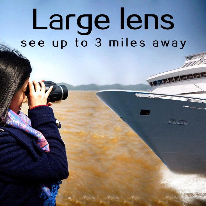 Lov 13x50 Big Vision Monokularni Snažan Ručni Teleskop Okular - Kampiranje i planinarenje - Foto 4