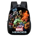 12 дюймов  Мстители  Железный человек  Халк  Капитан Америка  детский рюкзак для детского сада  детские школьные ранцы для мальчиков  повседне...