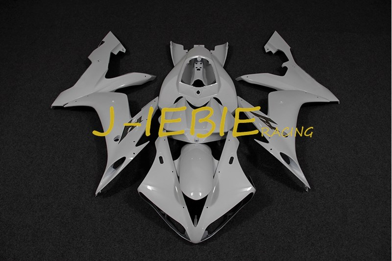 White Injection Fairing Body Work Frame Kit for Yamaha YZF 1000 R1 2004 2005 2006