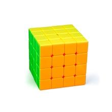 4*4 * 4The Последние Нет Наклейки Регулярные Сплошной Цвет Скорость Кубик рубика Классические Игрушки Подходит Площадь Головоломки Educationa для Взрослых Детей
