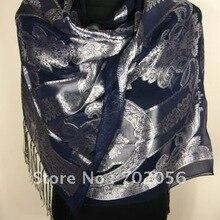 Женский шелковый шарф шаль шарф новейший 12 шт./партия#1425