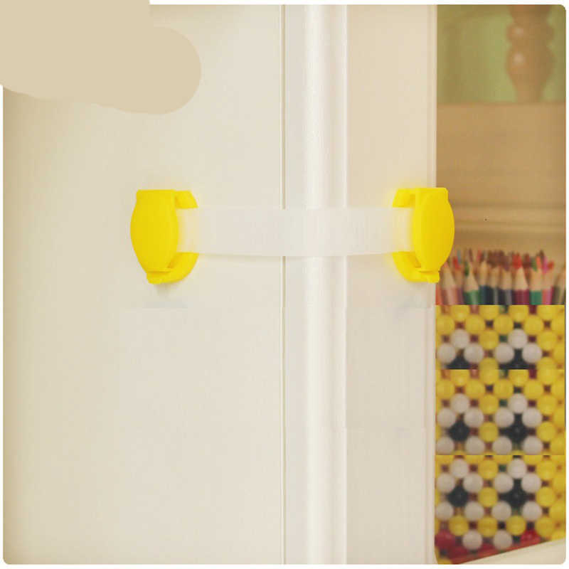 1 Pcs เด็กความปลอดภัยลิ้นชักประตู Terminator ความปลอดภัยผลิตภัณฑ์จากเด็กตู้กล่องล็อค