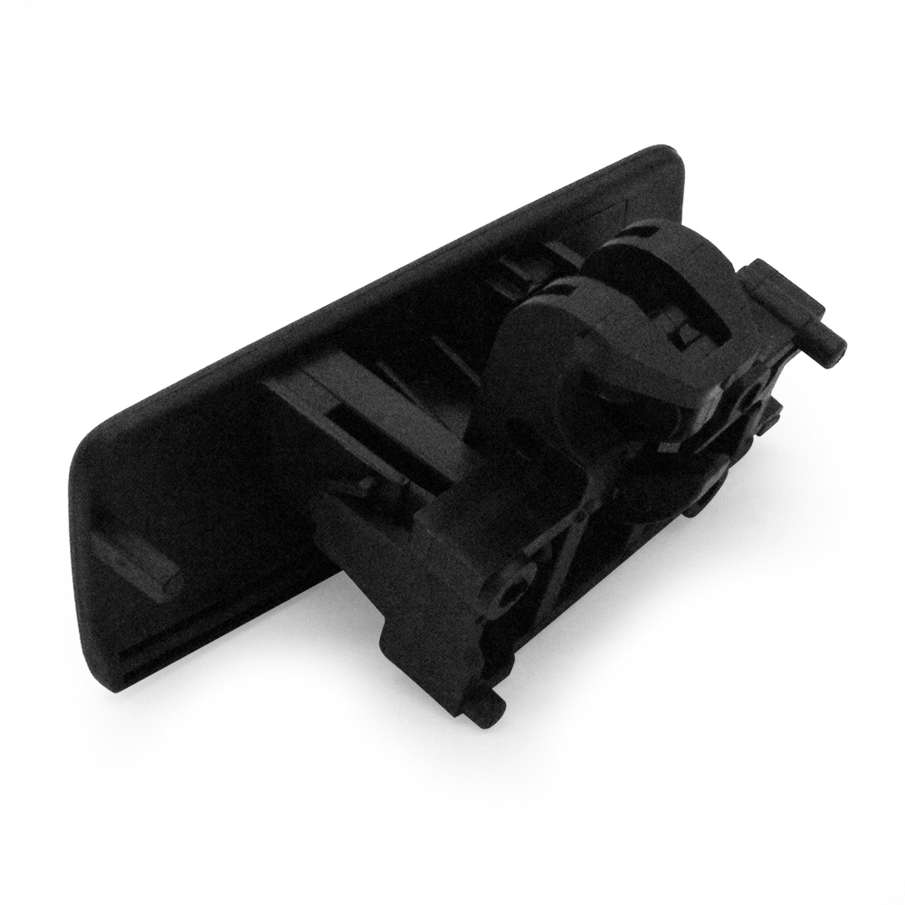 Black Glove Box Front Lid Handle Catch 735426145 For Fiat