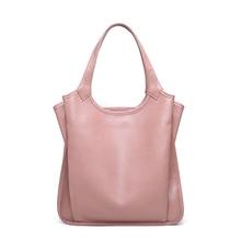 цены 2019 Fashion Designer Women Shoulder Bag genuine leather handbag casual tote bags for women bolsa feminina top-handle bag