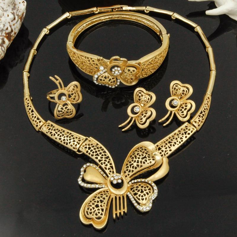 2017 new Christmas jewelry sets Italian fine jewelry design
