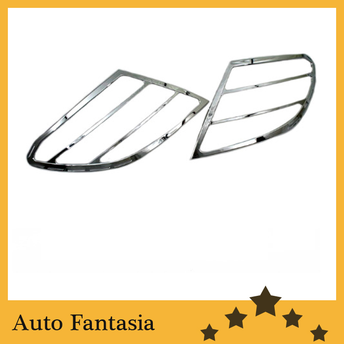Chrome Tail Light Cover For Mercedes Benz W204 C Class Pre-Facelift-Free Shipping high quality chrome tail light cover for skoda octavia mk2 04 08 free shipping