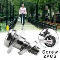 2 stücke Rvs Elektrische Roller Achterwiel Vaste Bouten Schroeven voor für Xiaomi M365 Roller Skateboard Onderdelen Accessoires