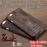 LJ11 Genuine Leather Hard Case Cover For Xiaomi Redmi Note 4X Cell Phone Case For Xiaomi