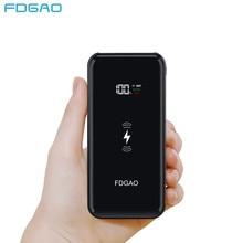 086f4cc03 FDGAO QI cargador inalámbrico banco de energía 20000 mAh batería externa  pantalla Digital Powerbank para iphone XS X 8 Samsung S..