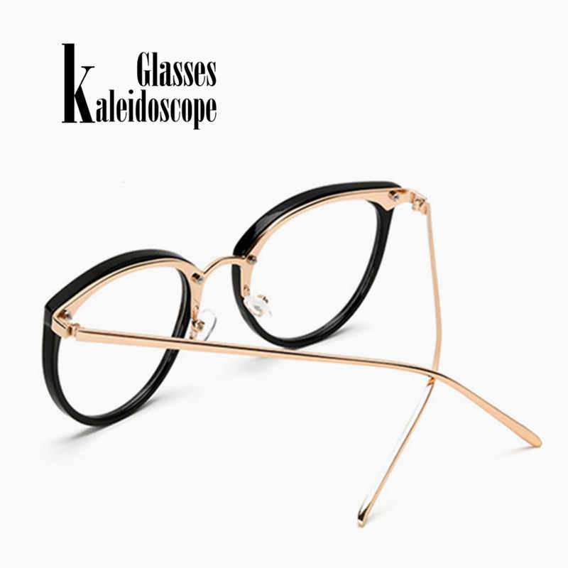 c3f73e17c1 ... Kaleidoscope Glasses Big Round Eyewear Frame Metal Legs Oversized Men  Women Eyeglasses Frames ransparent Optical Spectacle ...