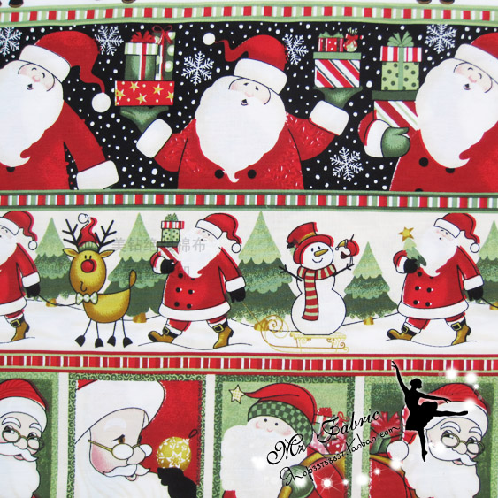100150cm merry christmas gingerbread man gifts fabric patchwork printed cotton fabric for tissue kids bedding home textile in fabric from home garden on - Christmas Gingerbread Man