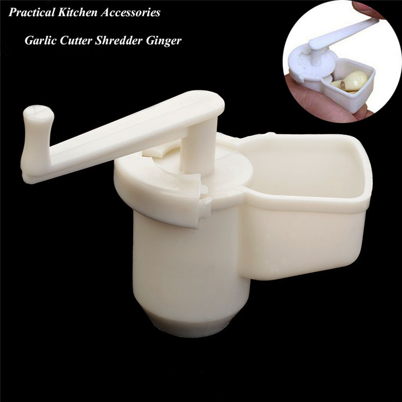 Practical High quality Kitchen Cooking Tool Potato Garlic Cutter Vegetable Tool Ginger Driven Handle Garlic Presser Drop Shippin