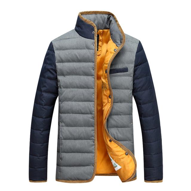 Hombres chaqueta de invierno 2016 cálido parka chaqueta P120 Figura 2 empuje principal barato chaqueta Para Hombre Abajo cosas buenas que decir tres veces XB-0905 tw
