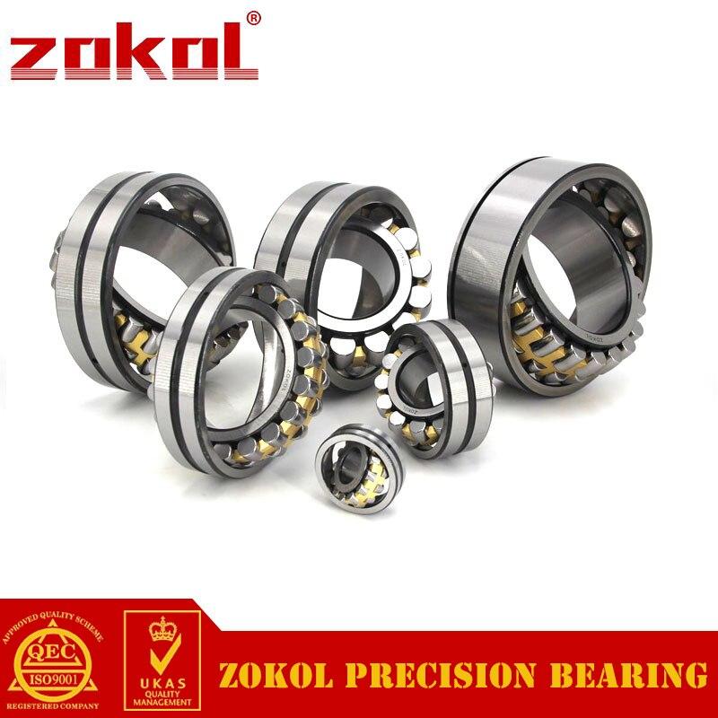 ZOKOL bearing 23038CA/W33 Spherical Roller bearing 3053138HK self-aligning roller bearing 190*290*75mm mochu 22213 22213ca 22213ca w33 65x120x31 53513 53513hk spherical roller bearings self aligning cylindrical bore