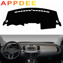 APPDEE For Peugeot 208 2008 2012 -2018 Car Styling Covers Dashmat Dash Mat Sun Shade Dashboard Cover Carpet