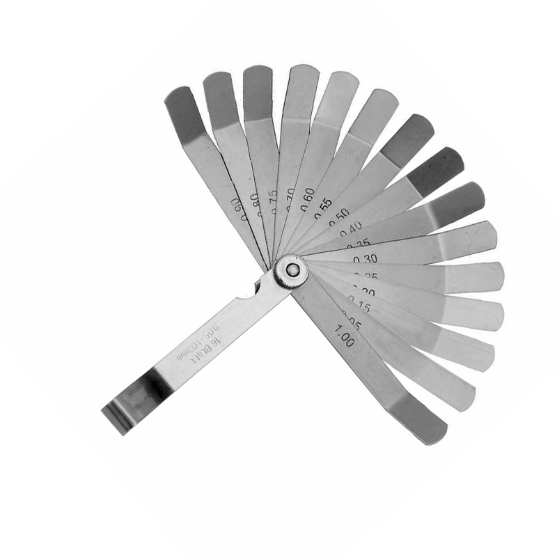 102mm Feeler Gauge Stainless Steel Spark Plug Gap Valve Feeler Gauge Measuring Tool Set High Quality
