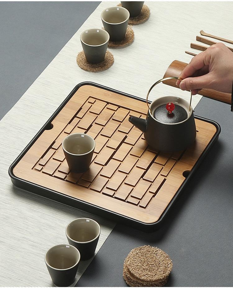 Bamboo Gong Fu Tea Trays 3