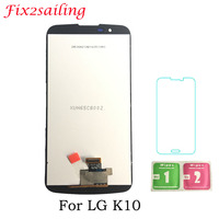 For LG K10 LTE K430 K430DS LCD Display Touch Screen Digitizer Assembly 5.3inch 100% Tested LCD Display Free Shipping