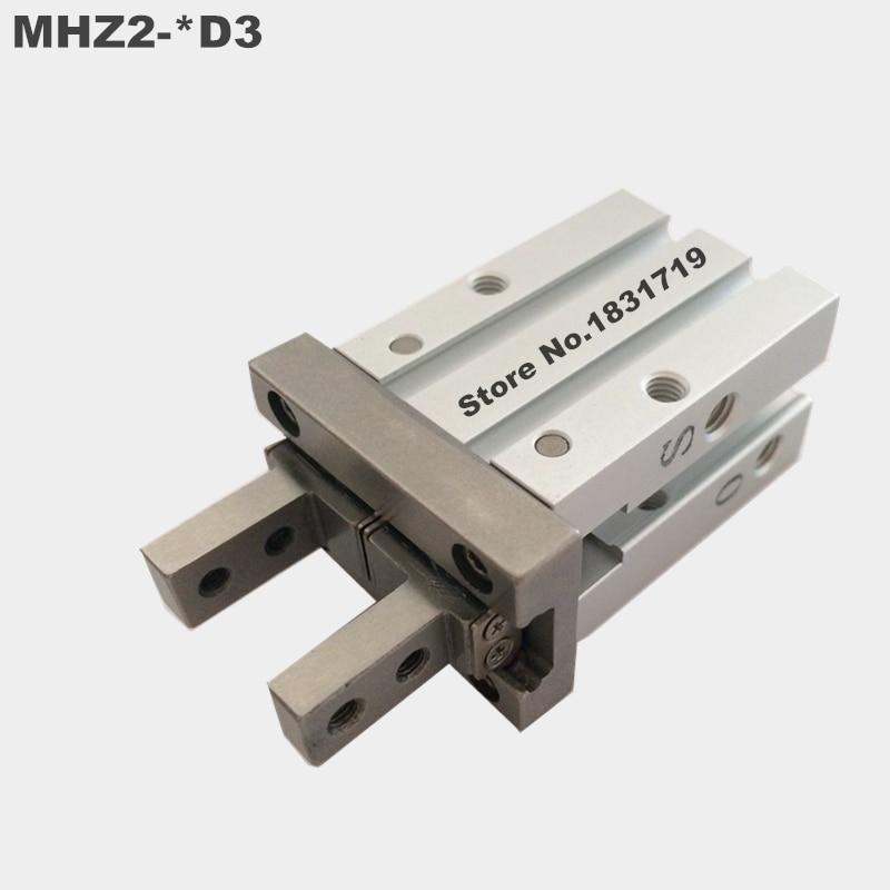 все цены на SMC standard type MHZ2-40D3 pneumatic finger cylinder parallel open air claw