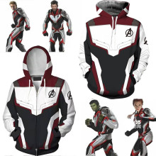 Cosplay Movie Avengers Endgame Quantum Realm Sweatshirt Jacket for Unisex 3D Print Sweater Adult Game Uniform