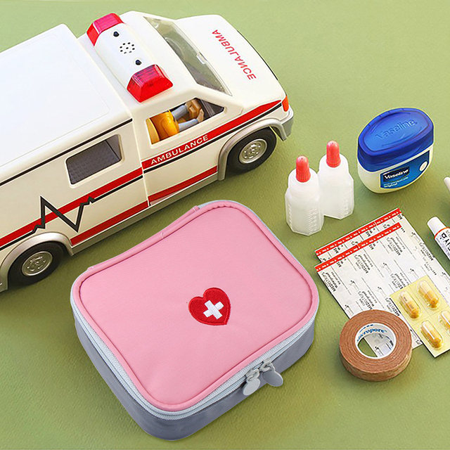 Mini Makeup Bag Outdoor First Aid Kit Travel Portable Medicine Package Emergency Bags