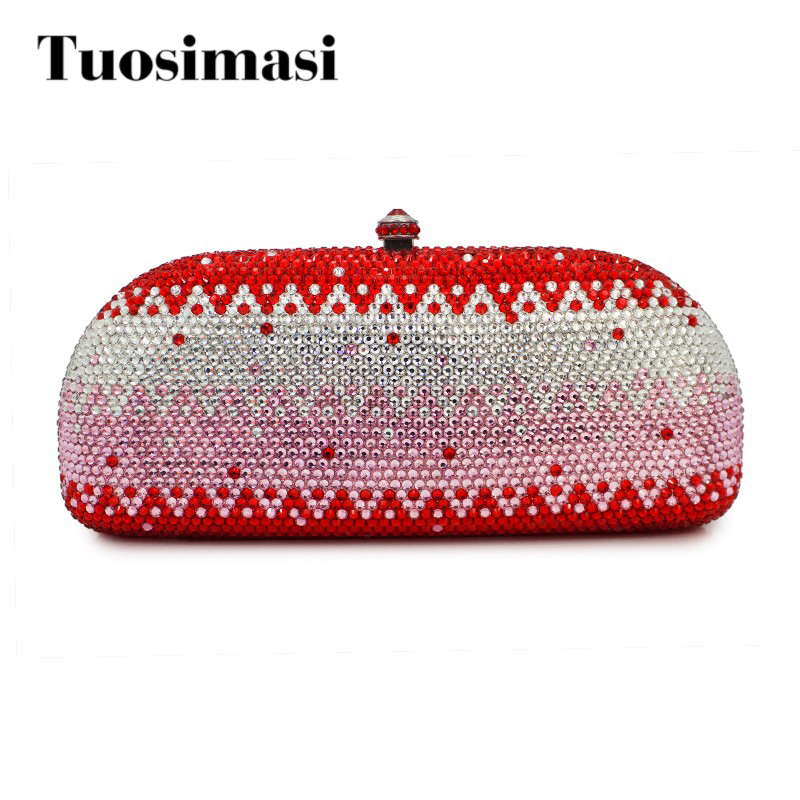 High quality diamond crystal clutch evening bag ladies handbag bad brand party purse boutique charm full of high quality diamond fashion party mini purse clutch evening bag ladies handbag shoulder bag wallet 88631