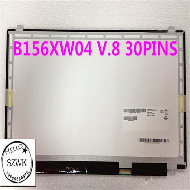 B156xtn03 V.1 B156XW04 V.8 LP156WHB TPA1 LP156WHU TPA1 LTN156AT31 N156BGE-EA1 N156BGE-EB2 LTN156AT37 LTN156AT39