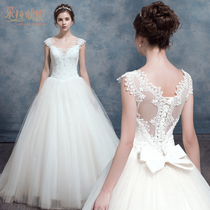 Popular champagne colored wedding veils buy cheap for Champagne lace short wedding dress