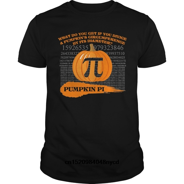 533e1f79367 Gildan funny t shirts Funny Halloween Math Pun TShirt Pumpkin Pi 2018  Fashion tshirt men t-shirt